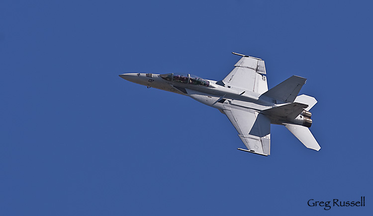 FA-18 Hornet in flight