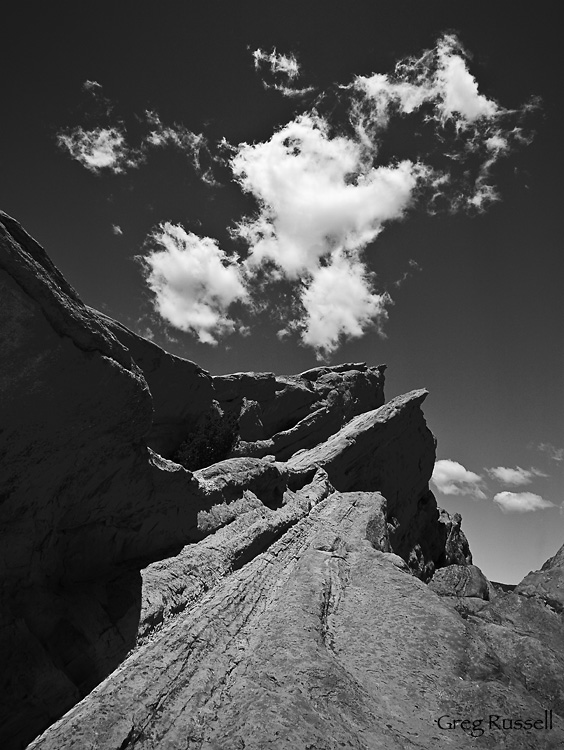 Famous Rocks at Vasquez Rocks County Park, California
