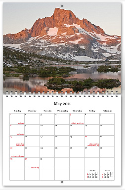 Alpenglow Images 2011 Calendar May preview