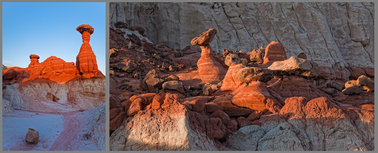 Toadstool Hoodoo, Grand Staircase-Escalante National Monument