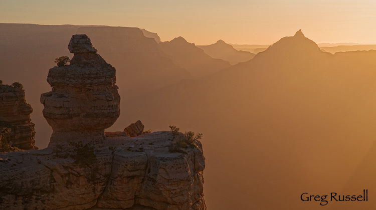 Vishnu's Temple at dawn, Grand Canyon National Park, Arizona