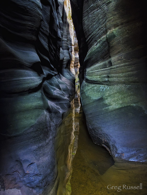 Das Boot Canyon, Zion National Park