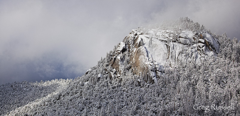 Winter in the San Jacinto Mountains
