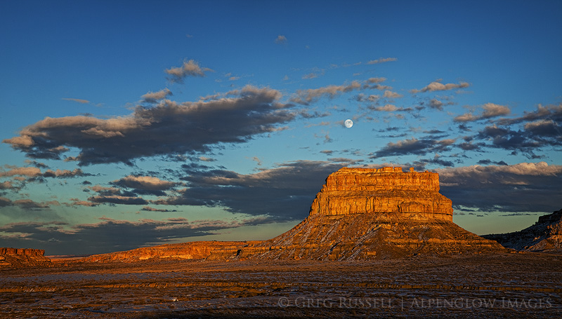 Fajada Butte Moonrise