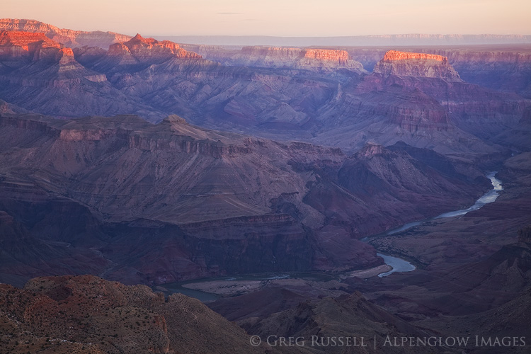desert view sunrise, grand canyon national park
