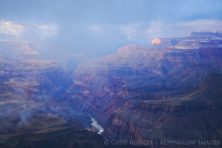 lipan point sunrise, grand canyon national park, arizona