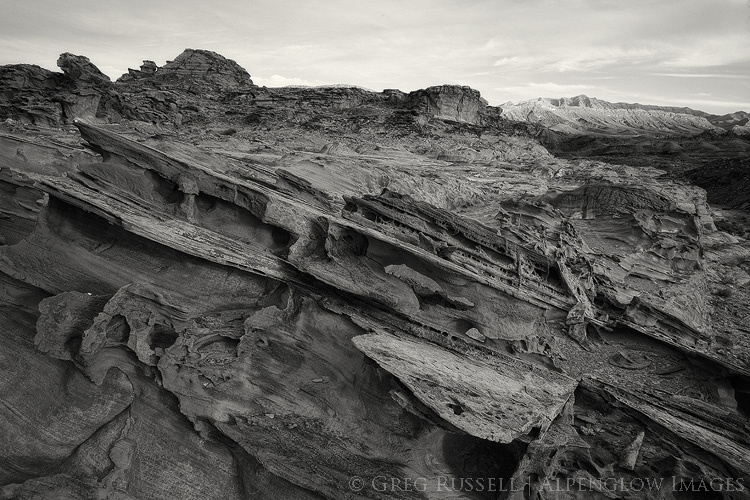 whimsical sandstone formations of little finland in gold butte national monument