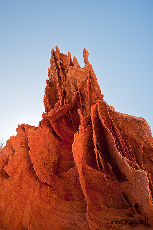 Sandstone boxwork in the coyote buttes north of northern Arizona