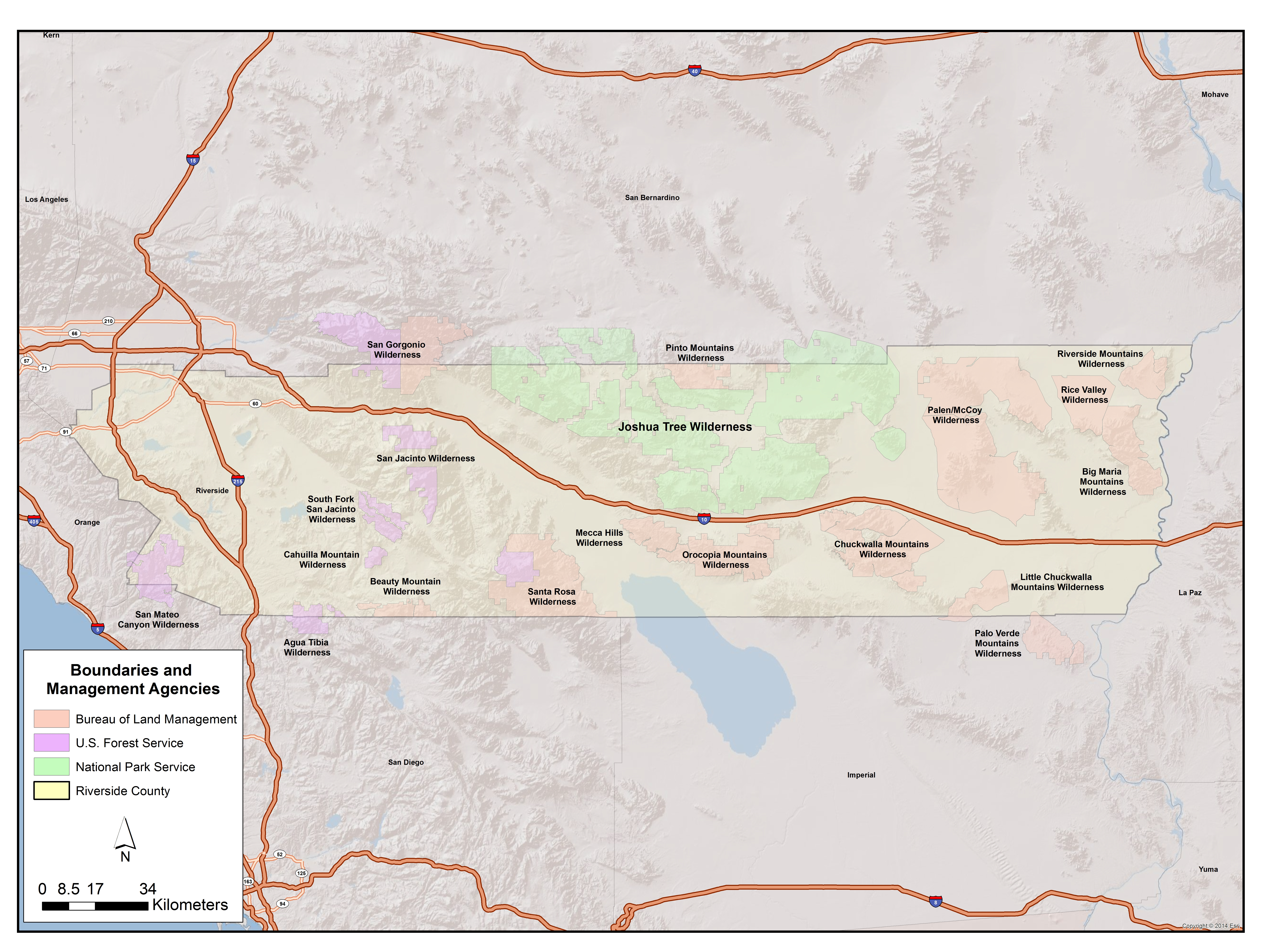 What is the Wilderness Project? California Wilderness Areas Map on